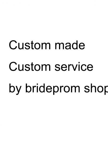 Custom Made Dress Additional Fee Custom Service