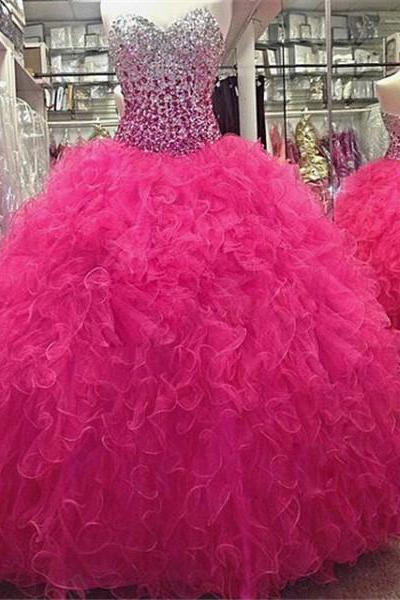 Tulle Party Prom Ball Gowns Party Dresses